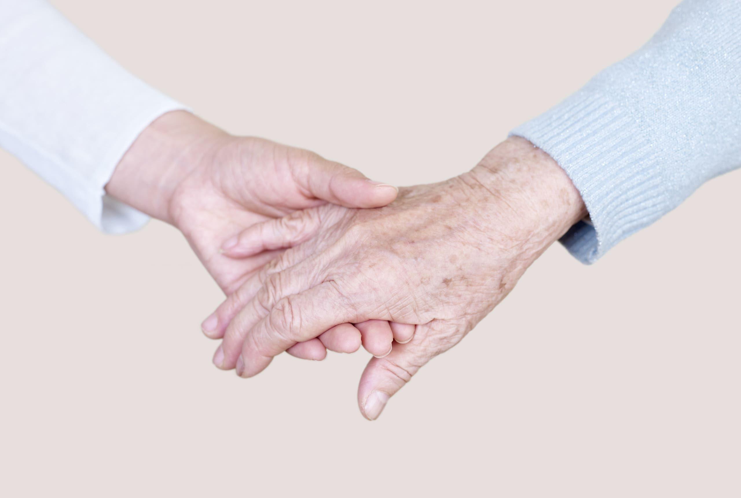 Hände halten bei Lindemann
